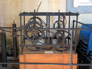 The old clock workings